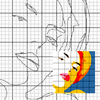 Zeichnungen Einfach Auf Raster Zu Reproduzieren 5