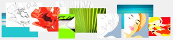 acrylmalerei vorlagen motive f r acryl farben mit anleitung. Black Bedroom Furniture Sets. Home Design Ideas