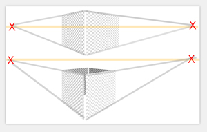 fluchtpunktperspektive mit mehreren fluchtpunkten. Black Bedroom Furniture Sets. Home Design Ideas