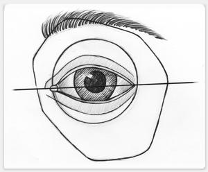 Augen Zeichnenlernen Mit Schritt Fur Schritt Zeichenanleitung