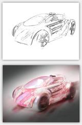 Autos Zeichnenlernen Autostudien Illustrieren Zeichenkurs