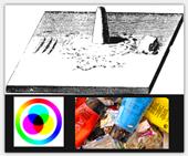 farben selber herstellen die unterschiedlichen methoden. Black Bedroom Furniture Sets. Home Design Ideas