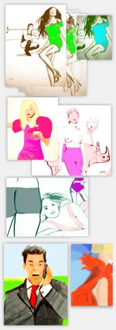 kleider mode zeichnen freie modezeichnung lernen. Black Bedroom Furniture Sets. Home Design Ideas
