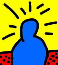 Bilder im Stil von Keith Haring malen