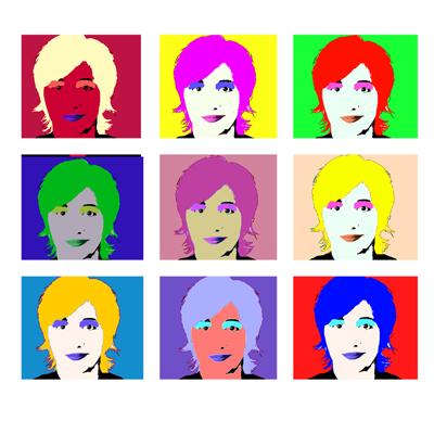 Malen Wie Andy Warhol Pop Art Vorlagen Mit Anleitung